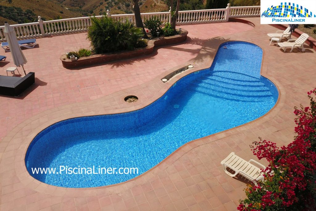 Pool crack repair, Velez-Malaga