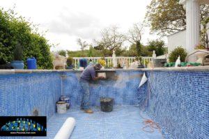 Cracked and leaking pool repair