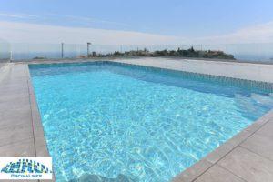 Cracked pool repair, Benalmadena