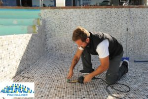 Pool Liner installation, Ronda