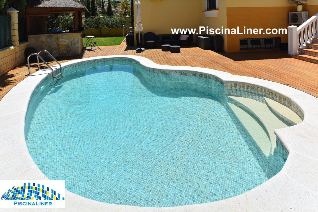 Renolit AlkorPlan swimming pool liner, Malaga, Spain