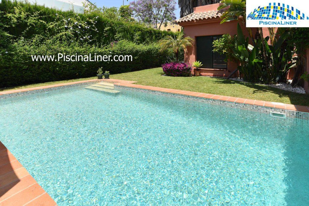 Reinforced pool liner, Estepona