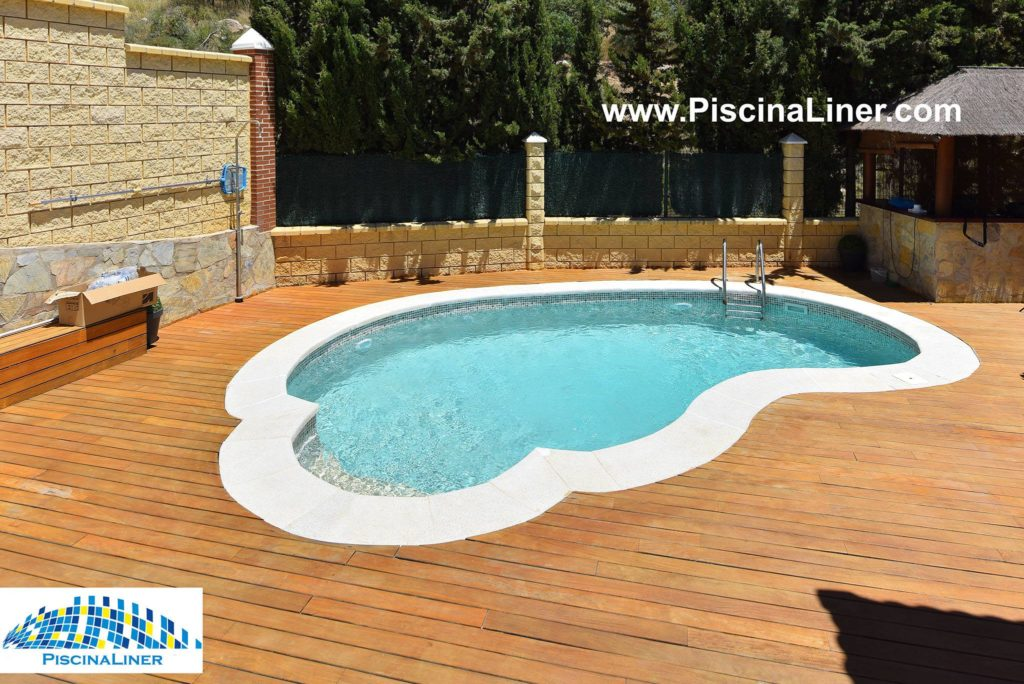 Swimming pool renovation, Spain