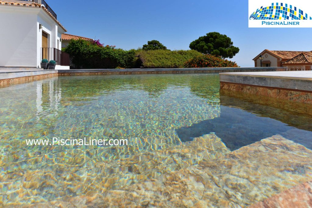 Pool liner installations, Spain