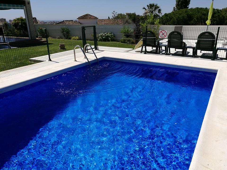 Pool Liner Installation Blue Marble El Coto Fuengirola