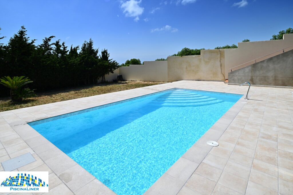 Newly renovated pool, Renolit TOUCH