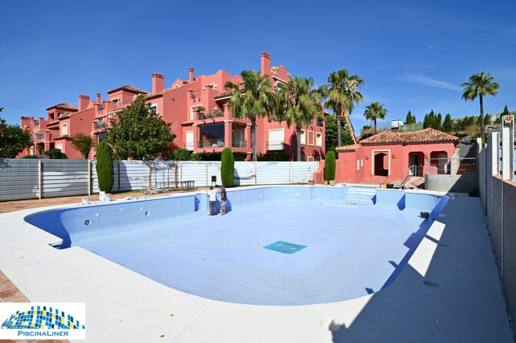 Community pool repairs and renovation, Benahavis