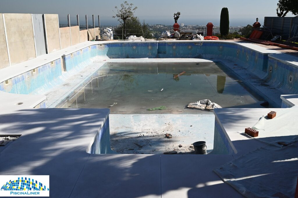 Swimming pool reform, Benahavis