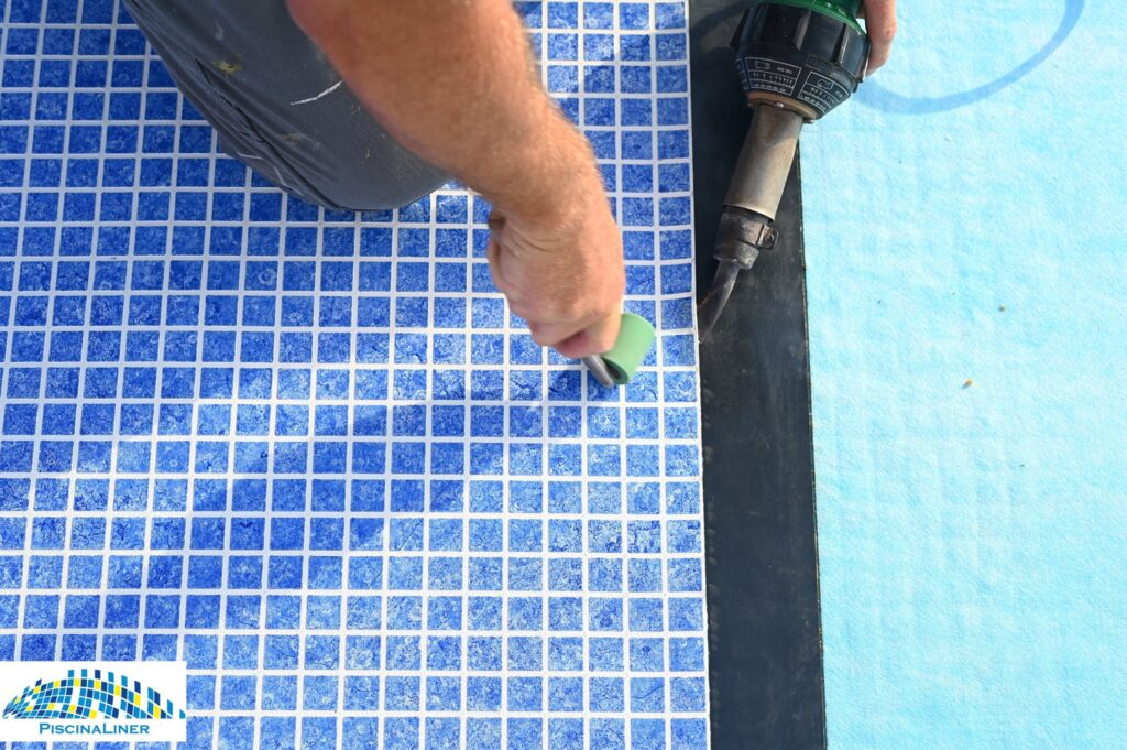 Installation of renolit pool membrane