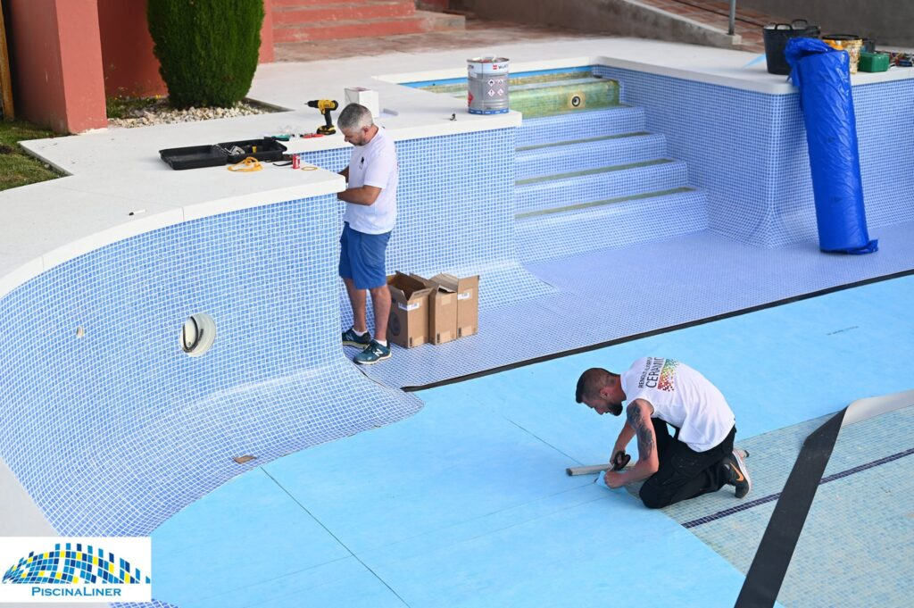 Renolit swimming pool lining
