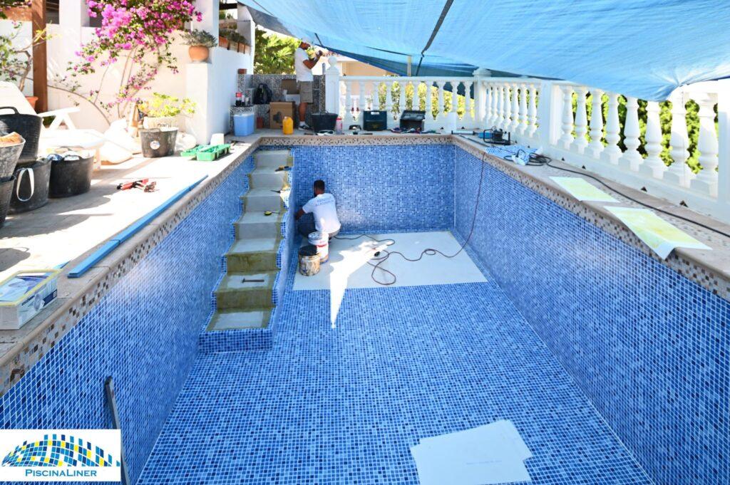 Swimming pool reform, Torreblanca