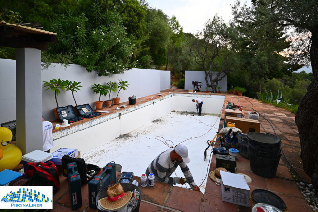 Gaucin pool repair