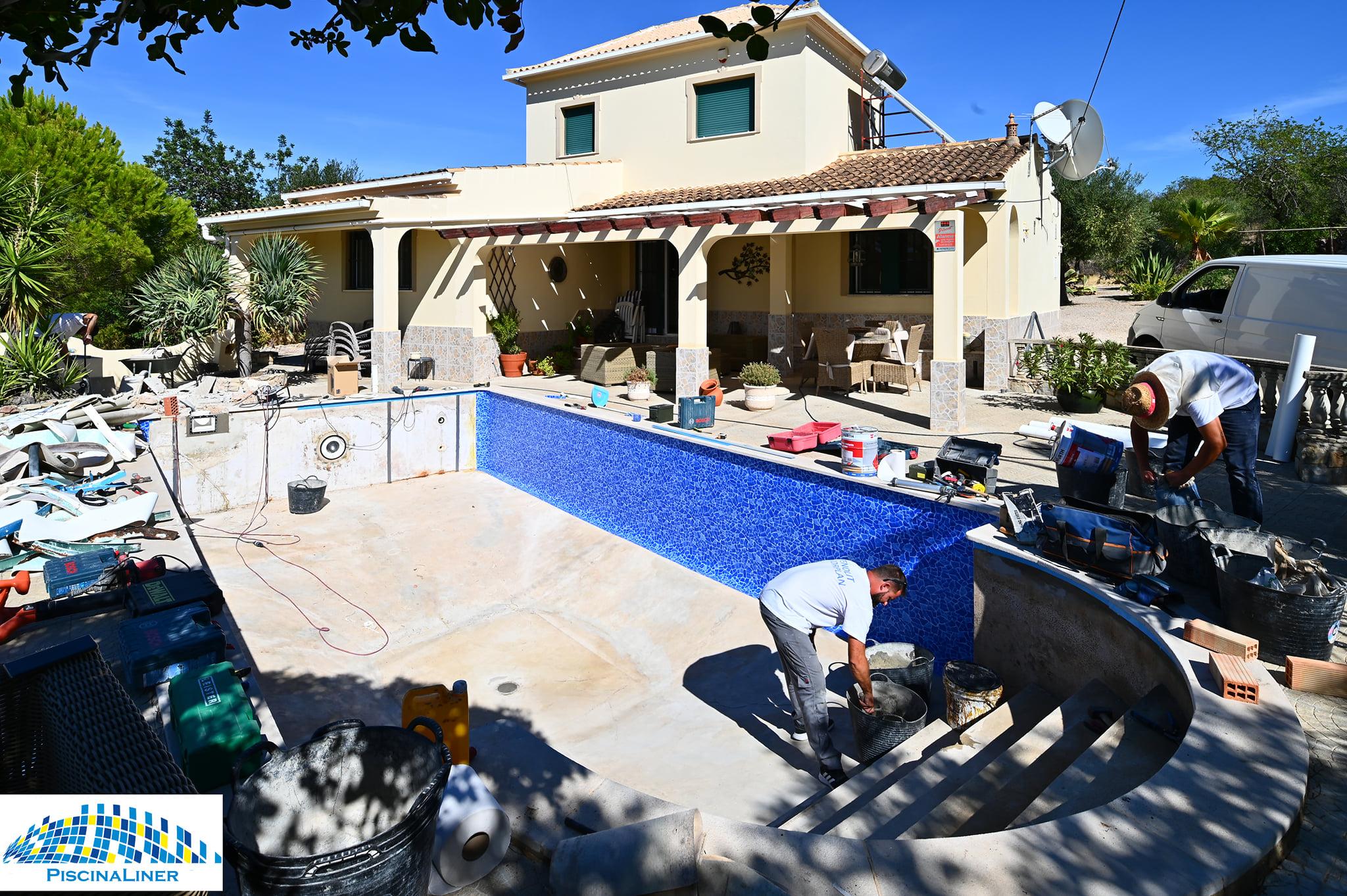 Algarve pool repairs