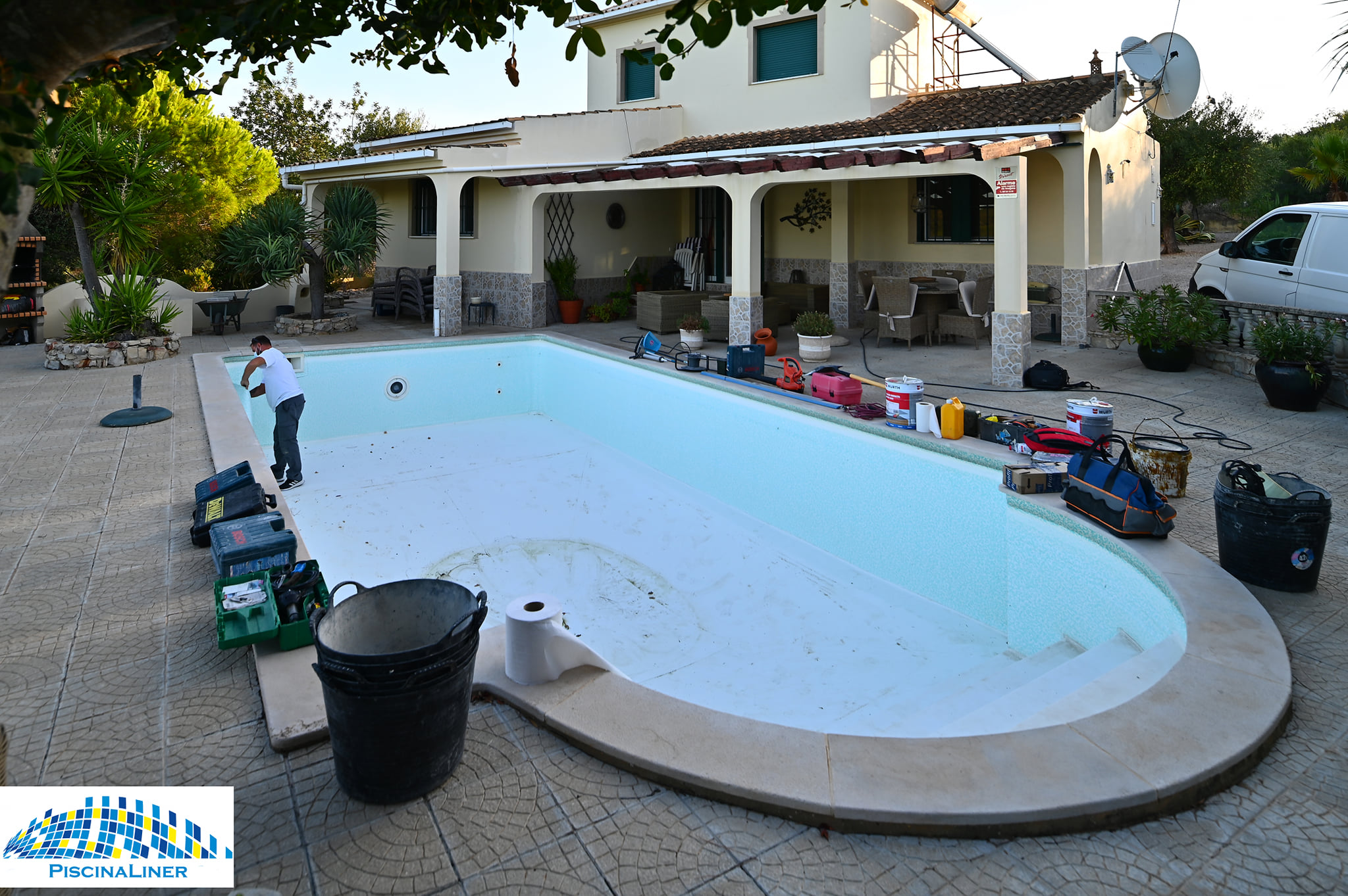 Renolit Pool Liner Installation, Algarve