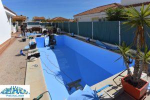 Almeria pool lining