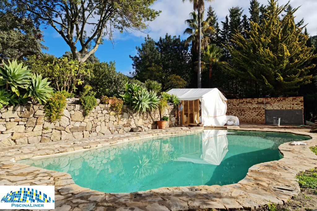 Natural pool finish, Gaucin