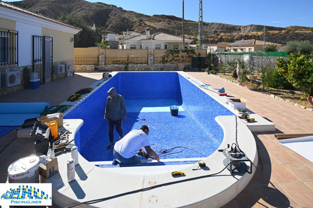 Pool liner almeria