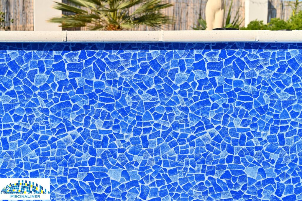 Detail of Carrara Pool Liner