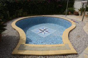 Fisuras en la piscina