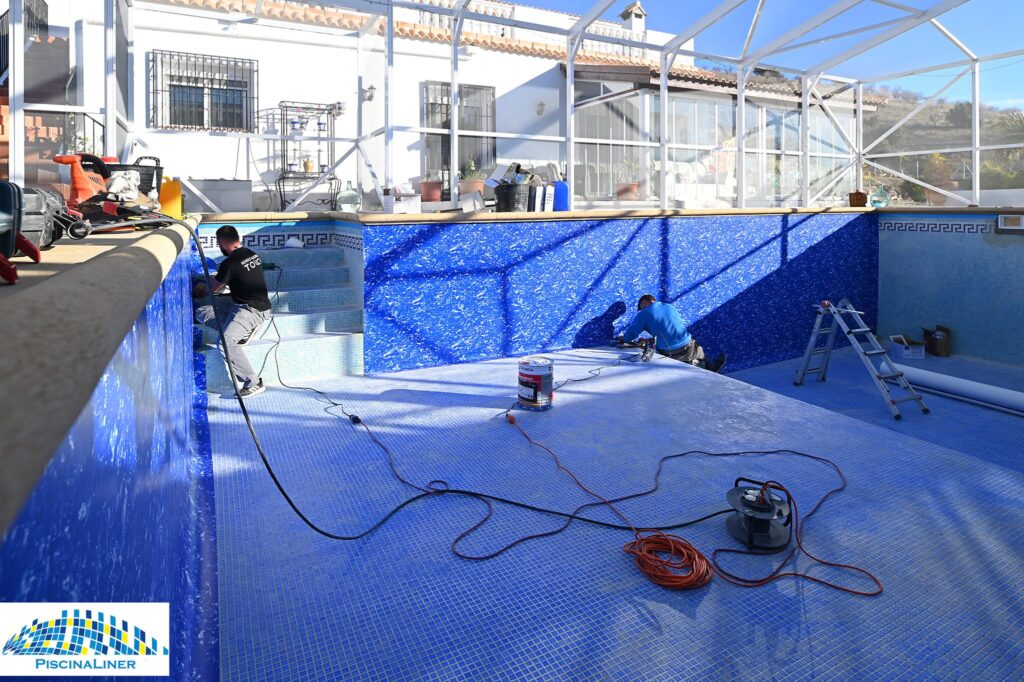 Almeria pool renovation