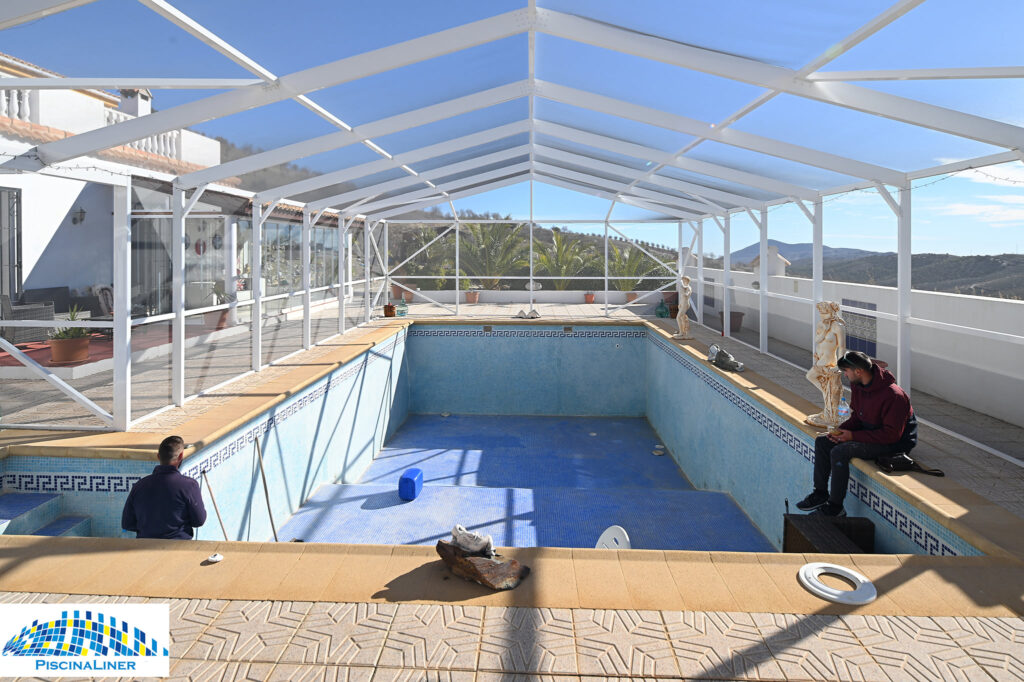 Pool refurbishment, Almeria