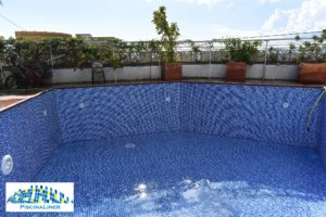 Persia Blue pool finish