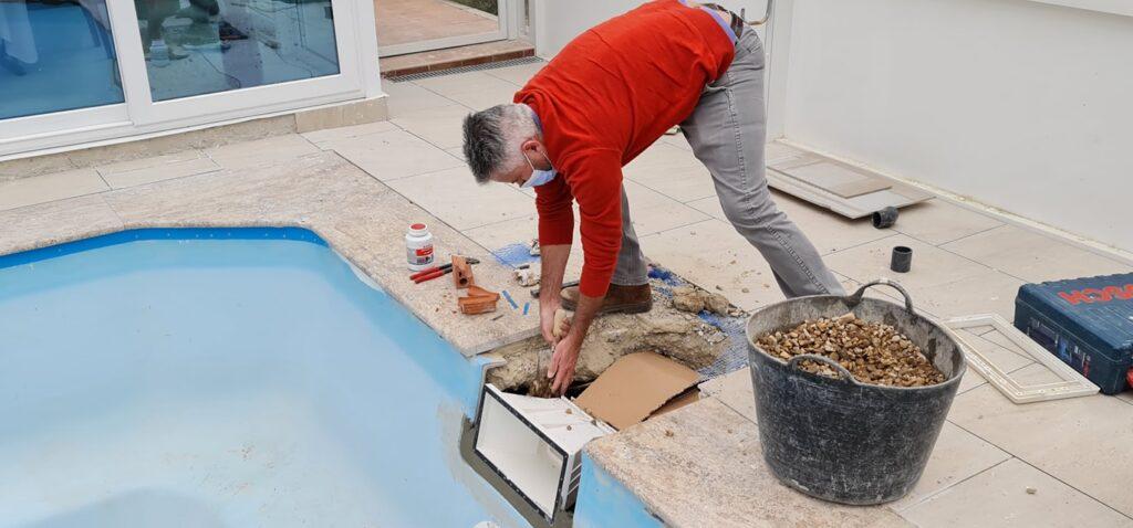 Prefabricated pool repairs