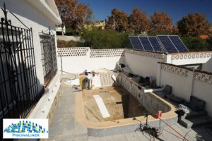 Renovation Liner Pool, Torremolinos
