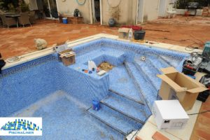 Swimming pool in need of renovation