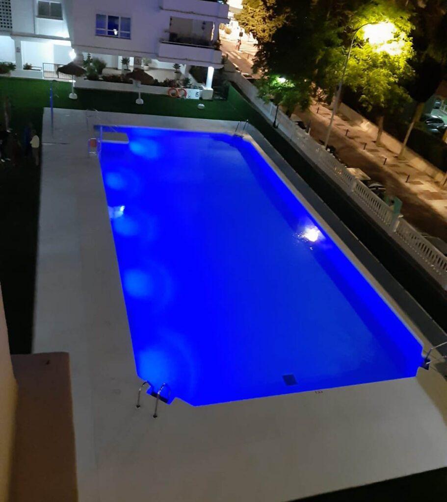 Solar Pool Light