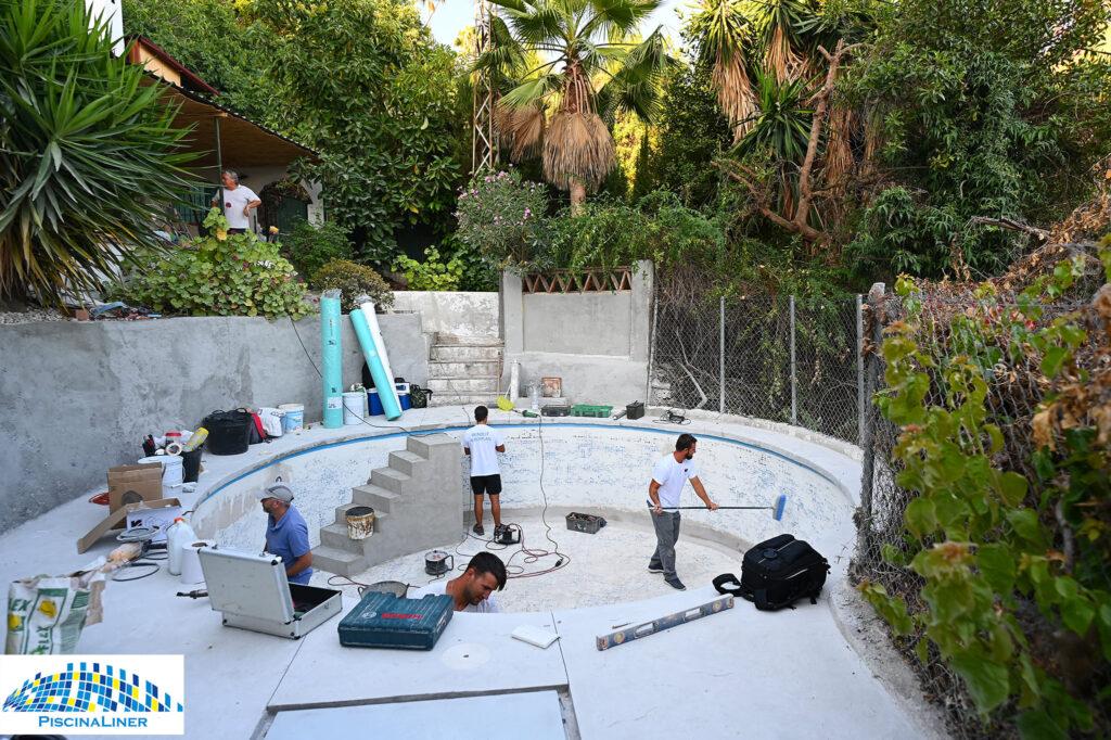 Pool refurbishment, Coin, Malaga