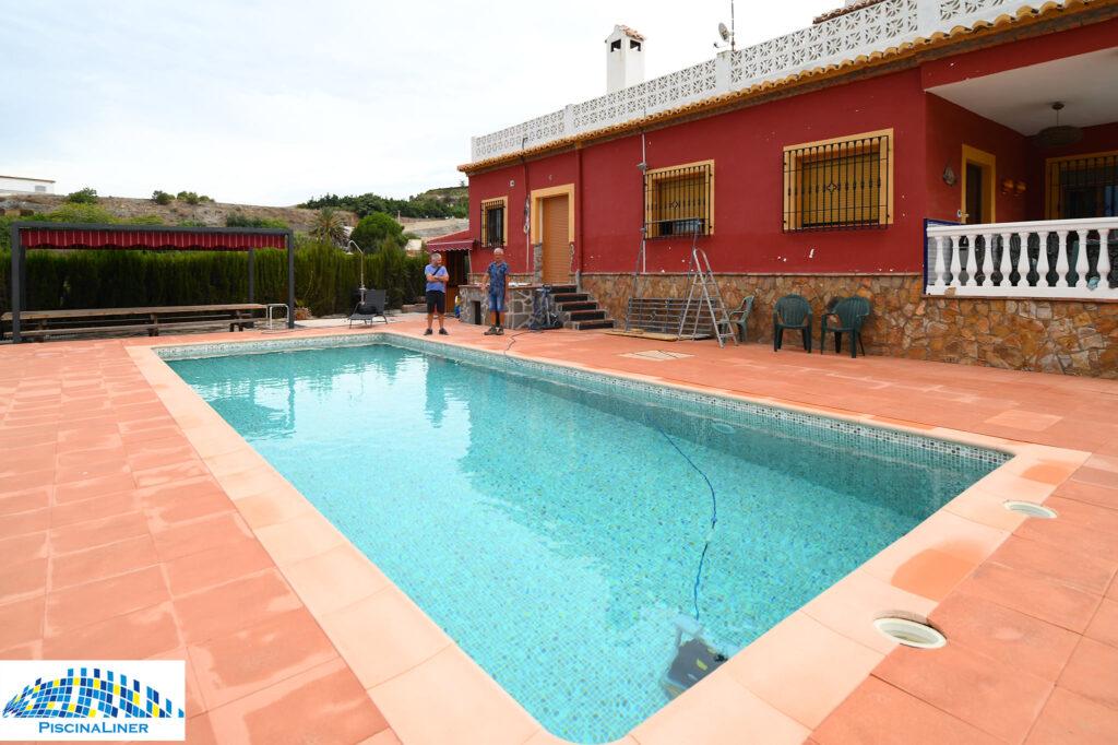 Reinforced pool liner, Motril, Granada