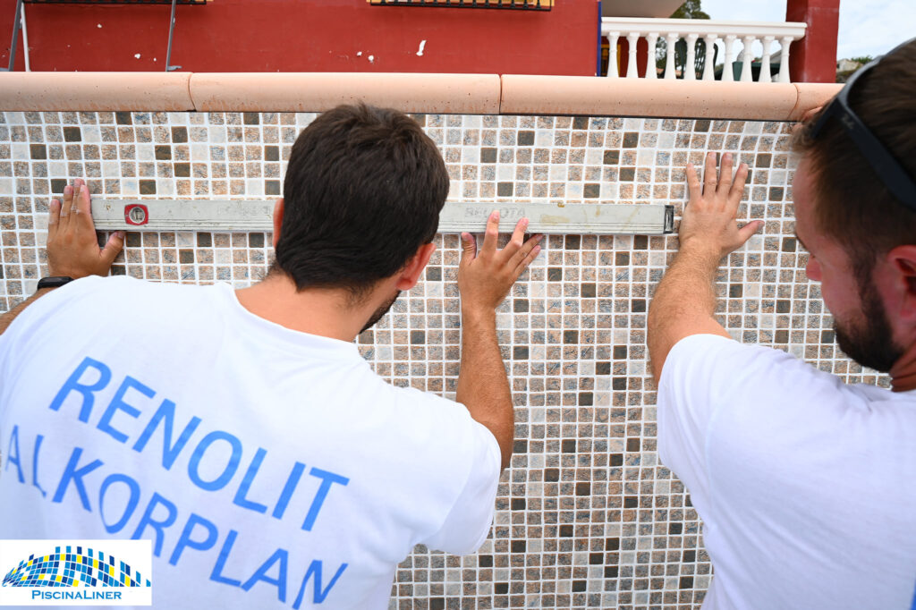 Repairing a pool with subsidence