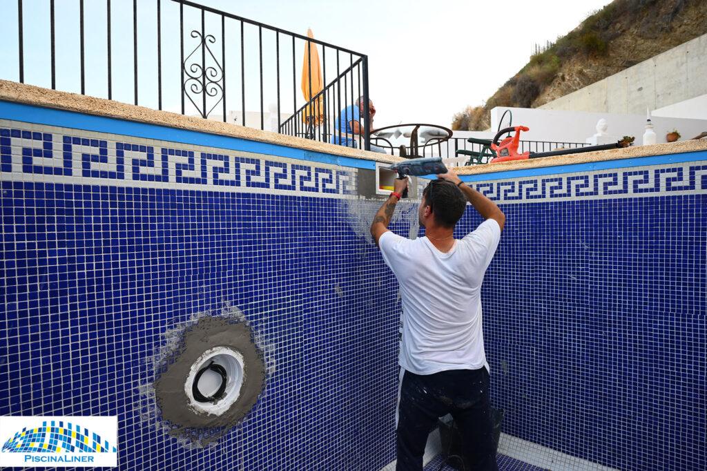 Cracked pool repairs, Mojacar