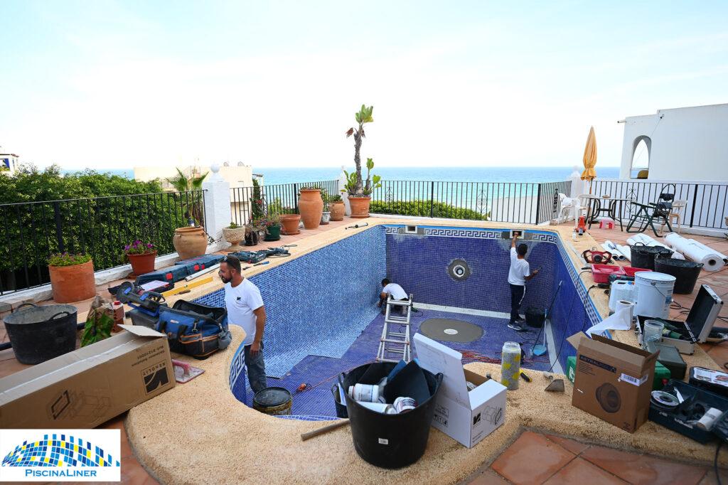 Pool repairs, Almeria