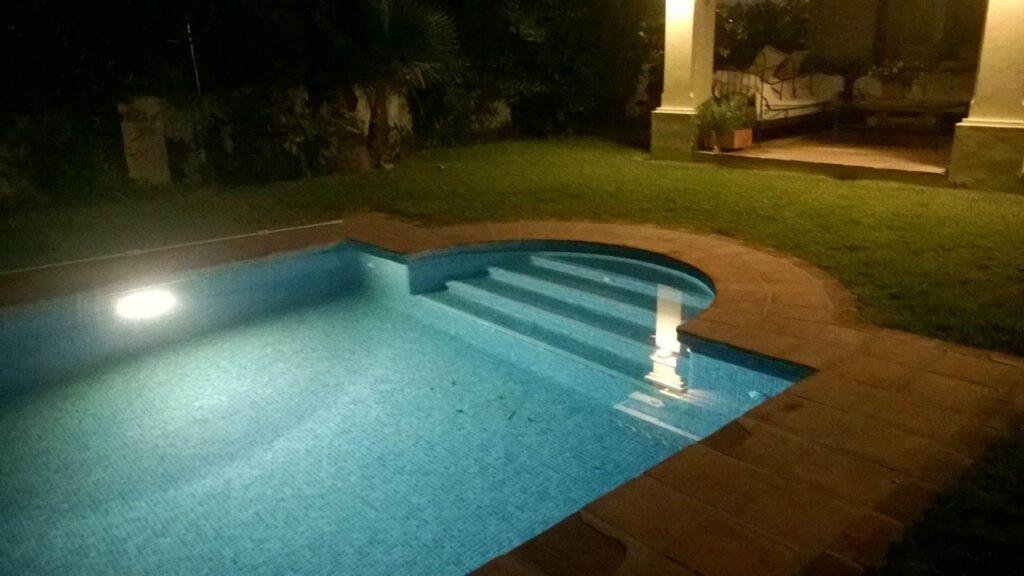 Installing Pool Lights