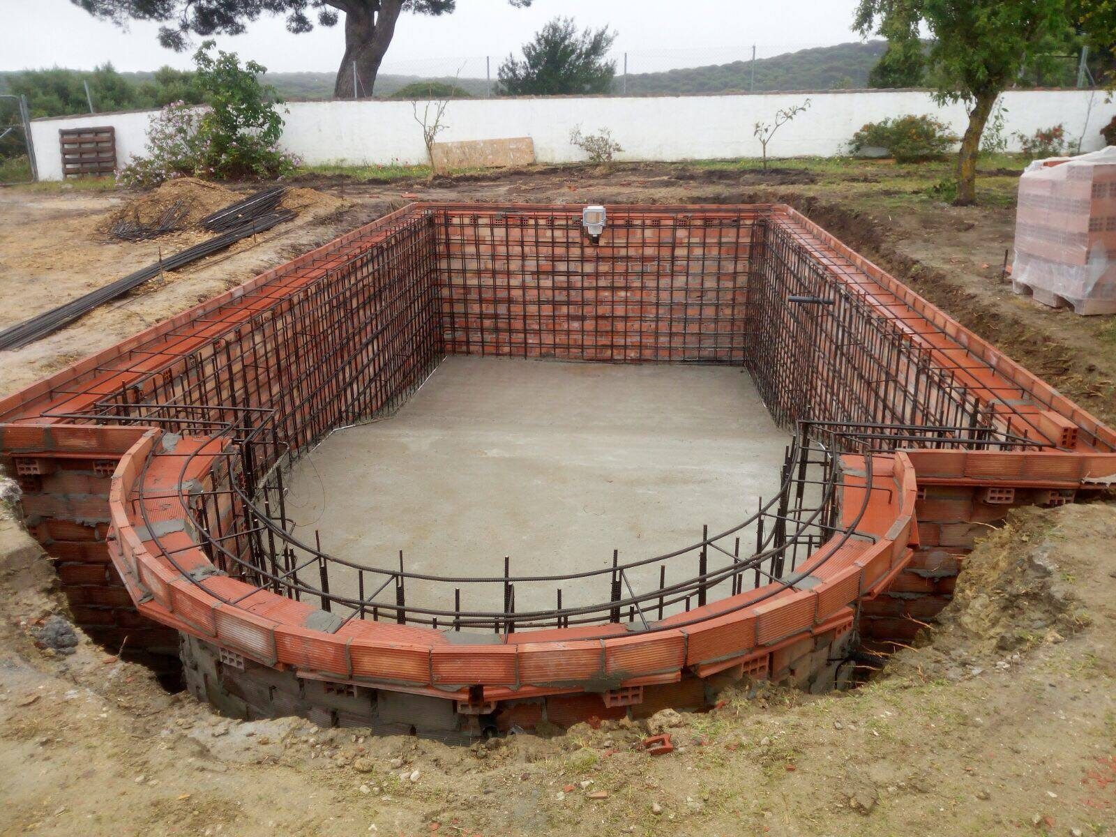 Brand new pool construction barbate cadiz for New pool construction