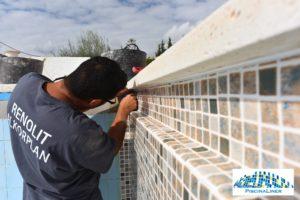 Instalacion de lamina para piscinas, Malaga