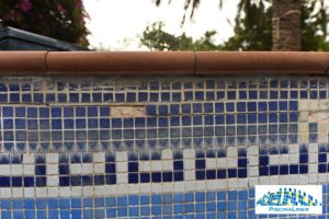 Replacing missing pool tiles