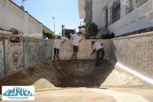 Swimming pool repair Torremolinos