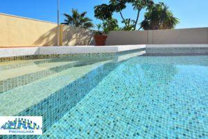 Cracked pool repair, Fuengirola