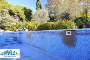 Repairing a leaking swimming pool