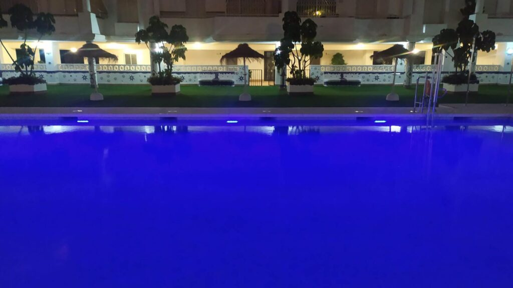 Solar LED Pool Lighting