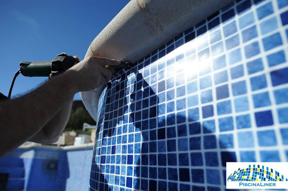 Reinforced Pool Liner, Almeria