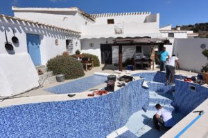 Swimming pool specialists, Renolit AlkorPlan, Almeria