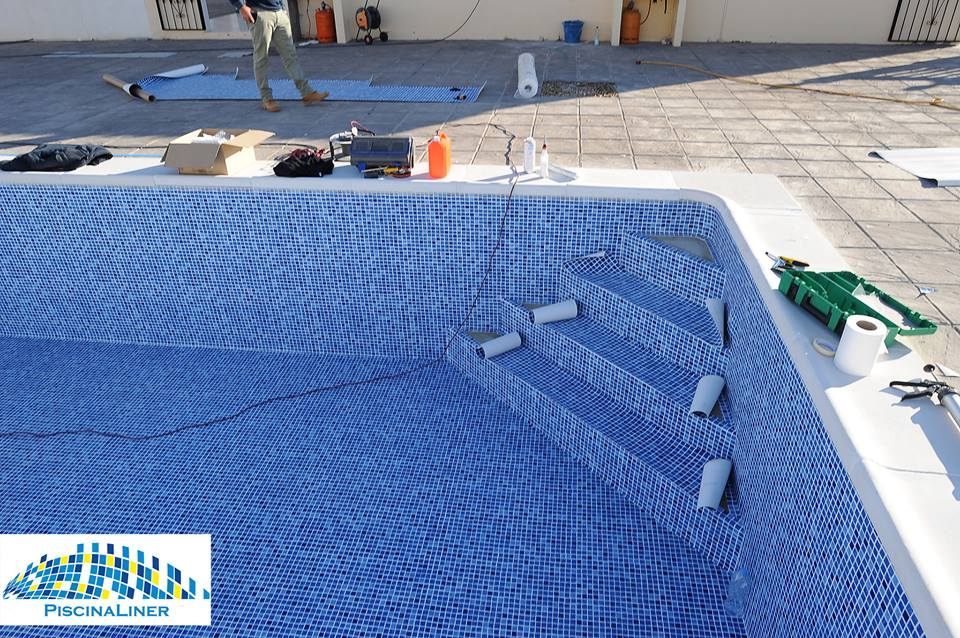 Swimming pool refurbishment, Albox