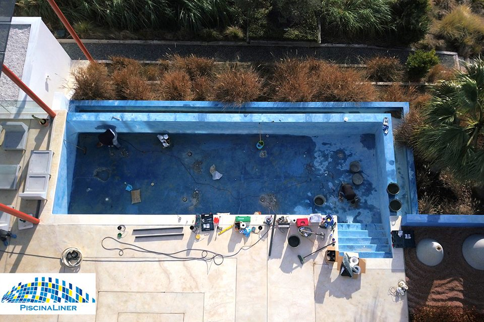 Swimming pool renovation, Sotogrande