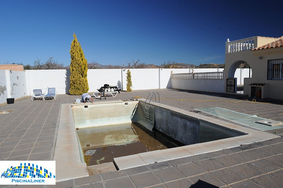 Pool refurb, Albox, Almeria