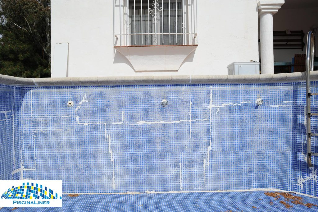 Leaks in structure of pool