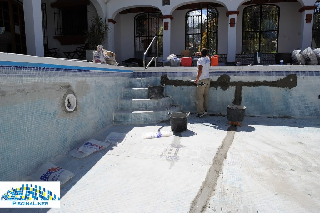 Pool Renovation, Ronda, Malaga